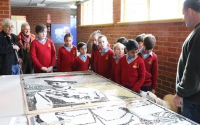 Aboriginal Soldiers Honoured With New Mosaic Artwork