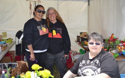 Aboriginal Women Supporting Each Other