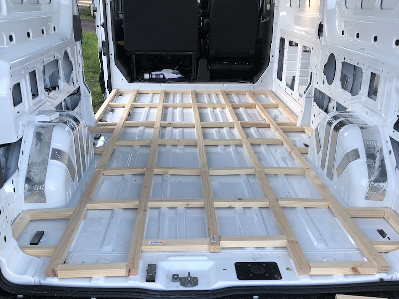 Vanlife Floor Framing