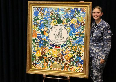 Taungurung woman Flt Lt Aimee McCartney works for cultural change within the Air Force