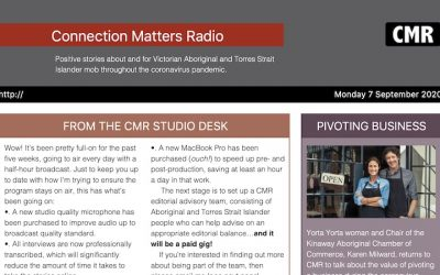 CMR Newsletter #05 Dated 7 September 2020
