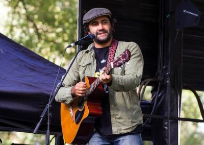 Aboriginal singer, songwriter and photographer James Henry looks to the positives